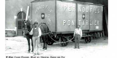 Old Carriole of pernod and sons