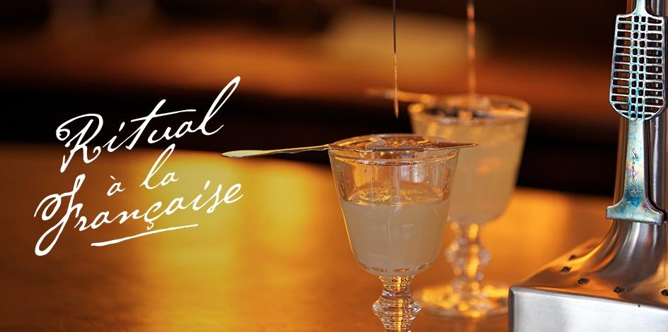 Ritual à la française by Pernod Absinthe