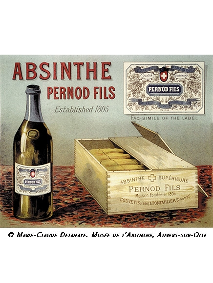 Woodbox of Absinthe Pernod