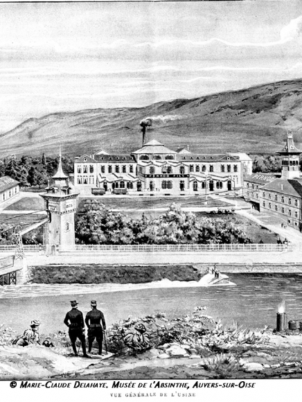 View of pernod factory
